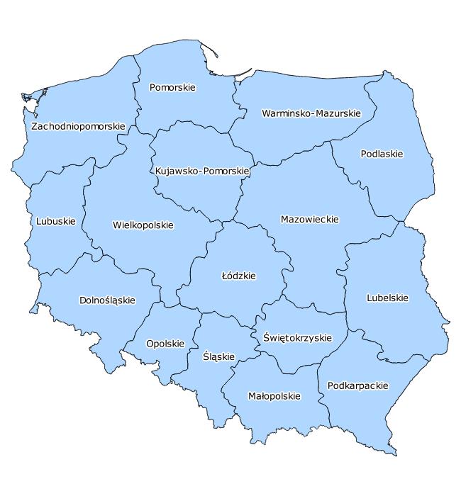 Tabelle Polen